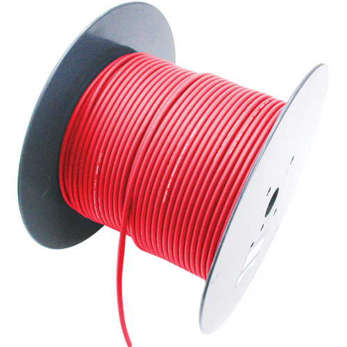 Mogami W2944 Internal / External Standard Console Wiring Cable (656', Red)