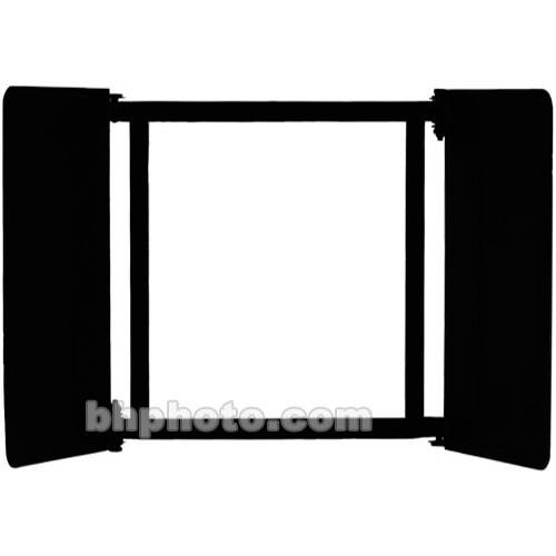 Mole-Richardson 2-Leaf Light Shield Barndoor Set for 4K Baby Softlite