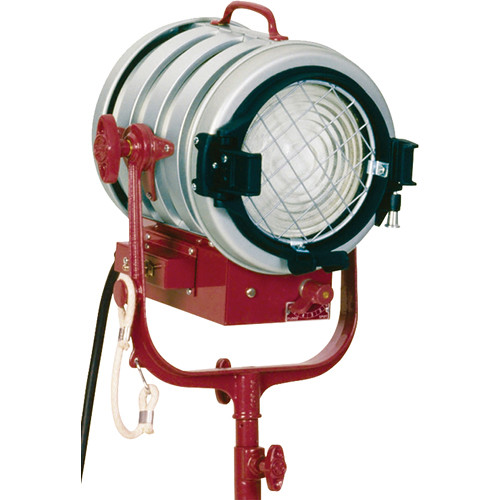 Mole-Richardson Molequartz 1000 Watt Baby Fresnel Solarspot Tungsten Light