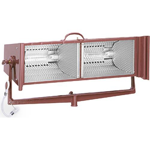 Mole-Richardson 2000 Watt Molequartz Double-Broad Tungsten Light