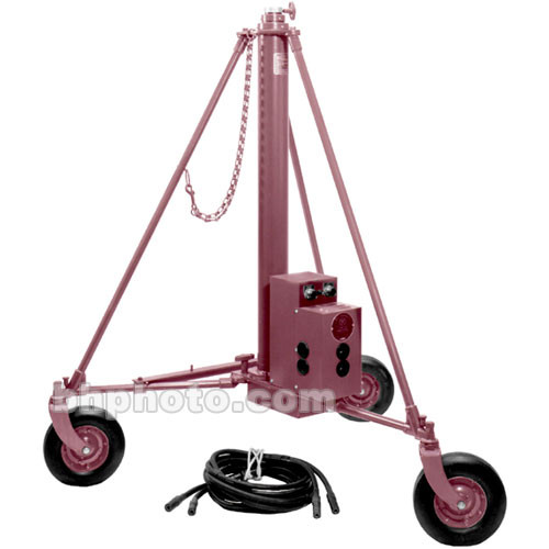 Mole-Richardson Molevator AC/DC Wheeled Stand (11')