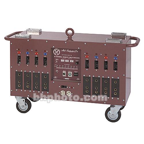 Mole-Richardson Deuce Board 8 Channel Distribution Box - DMX, Cam-Lok