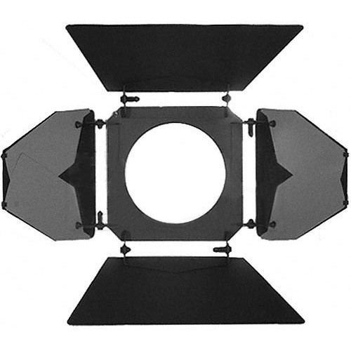 "Mole-Richardson 4-Way/8-Leaf Barndoor Set for 6"" Baby Solarspot"