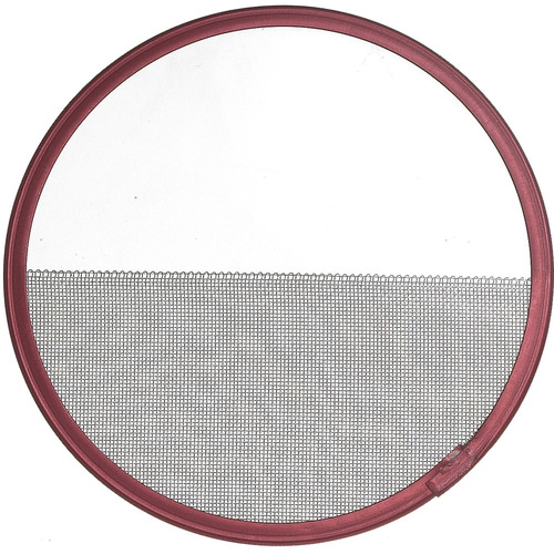 "Mole-Richardson Half Double Stainless Steel Scrim for Baby-Baby, Mickey Mole, HMI Par 575W (7 3/16"")"