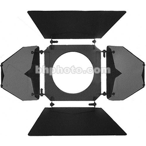 "Mole-Richardson 4 Way/8 Leaf Barndoor Set for 10"" Junior Solarspot"
