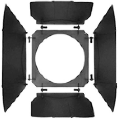 Mole-Richardson 4-Way/8-Leaf Barndoor Set for Mole Junior, HMI 1.2K, Molepar 1K