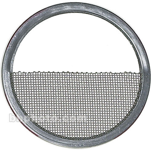 "Mole-Richardson Half Single Stainless Steel Scrim for HMI 6K PAR (15 1/2"")"