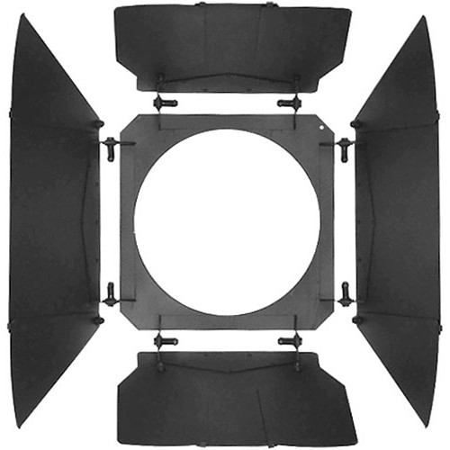 Mole-Richardson 4-Way/12-Leaf Barndoor Set for Baby-Senior Solarspot