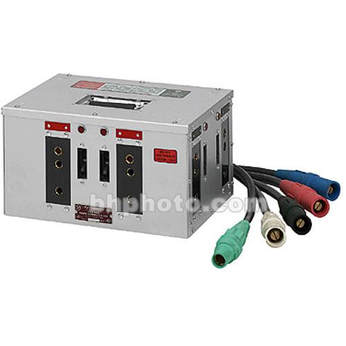 Mole-Richardson Cam-Lock 3 Phase Thru Box - 5-Wire, 600 Amp