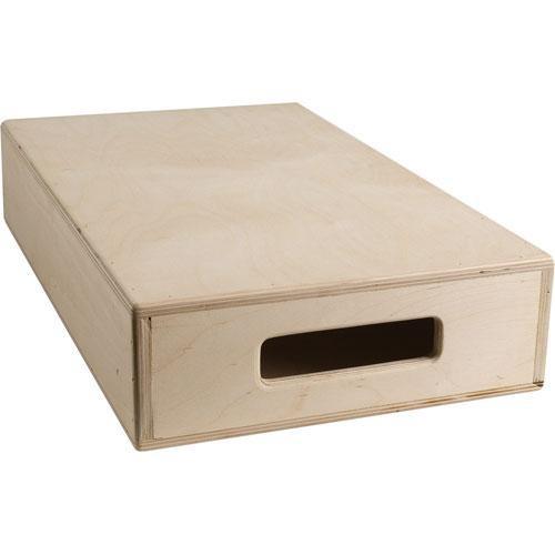 "Mole-Richardson 12 x 4 x 20"" 1/2 Apple Box"