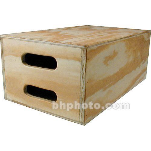 "Mole-Richardson 12 x 8 x 20"" Full Apple Box"