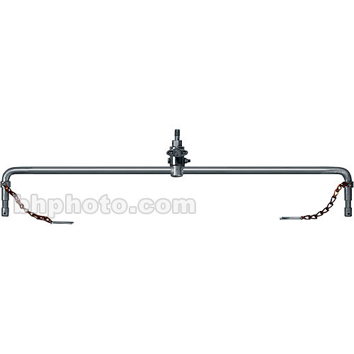 """Mole-Richardson Double Hanger with 1/2""""-13 Thread - Accepts 2 Baby (5/8"""") Fixtures"""