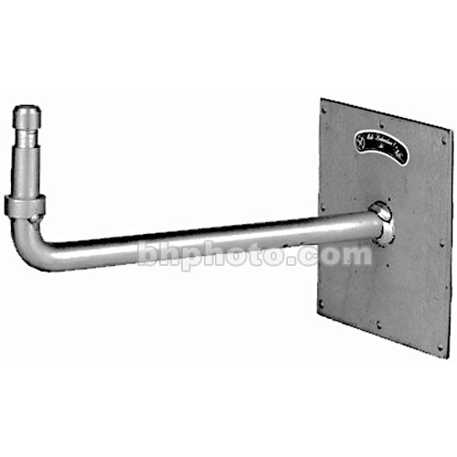 Mole-Richardson Wall Plate with Right Angle Baby Stud