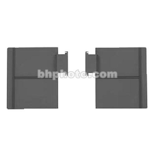 Mole-Richardson 2-Leaf Barndoor Set with Diffusion-Filter Holder for Molepar 6 Light Bank