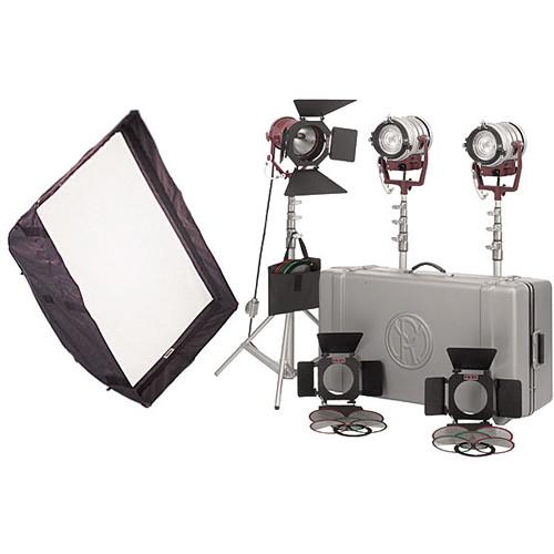 Mole-Richardson Tweenie-Mickey-Mole 3-Light Pro Kit