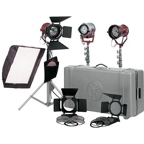 Mole-Richardson Tweenie II and Teenie 3 Light Pro Kit