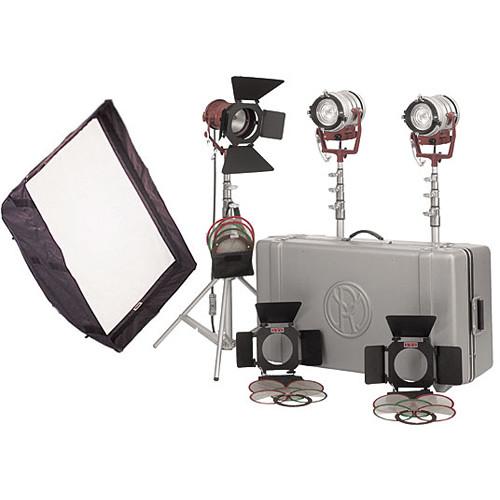 Mole-Richardson Tweenie II and Teenie 3-Light Pro Kit