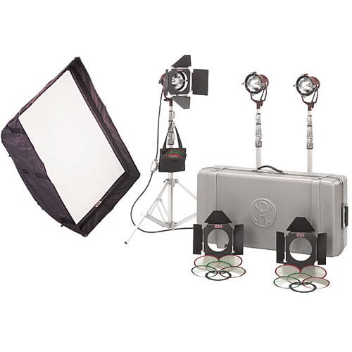 Mole-Richardson Teenie-Weenie 3-Light Pro Kit