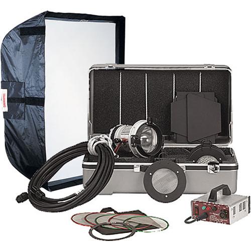 Mole-Richardson Molepar 200 Watt HMI 1 Light Pro Kit (120-240V)