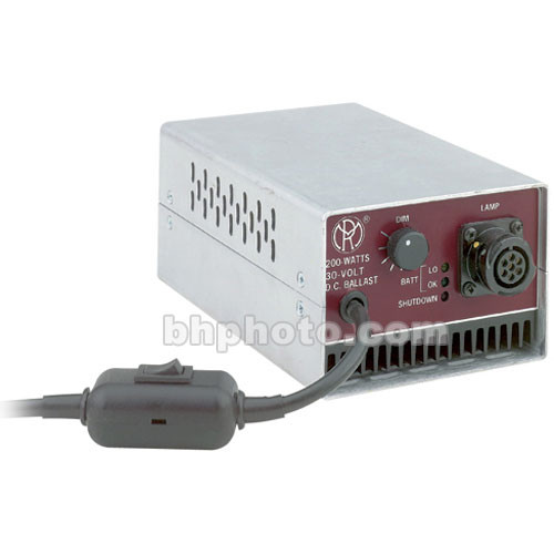 Mole-Richardson Ballast - Electronic DC for Mole 200W HMI Par