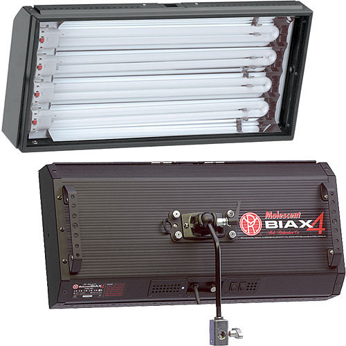 Mole-Richardson Biax-4 Fluorescent Fixture with Dimmer (220V)