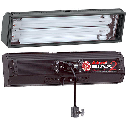 Mole-Richardson Biax-2 Omni FLuorescent Light with Local, DMX