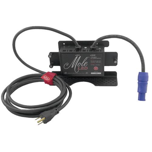 Mole-Richardson 100W AC/DC Power Supply for Single MoleLED (90-250V)