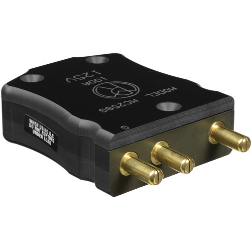 Mole-Richardson 100 Amp 125 Volt 3-Pin Plug