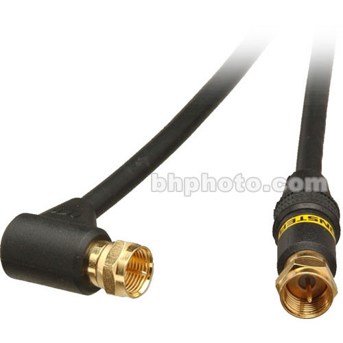 Monster Cable Standard Series Right Angle RF Cable - 6.6' (2 m)