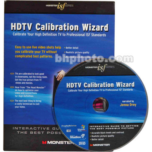 Monster Cable Monster/ISF HDTV Calibration Wizard DVD