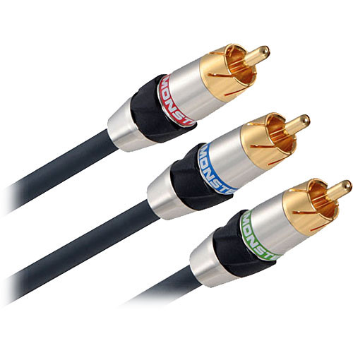 Monster Cable 400cv Advanced Performance Component Video Cable (6.5')