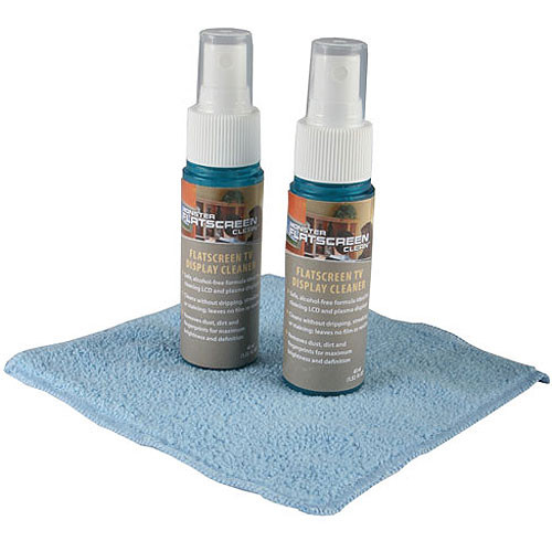 Monster Cable FlatScreen Screen Clean Cleaning Kit - 2 Pack