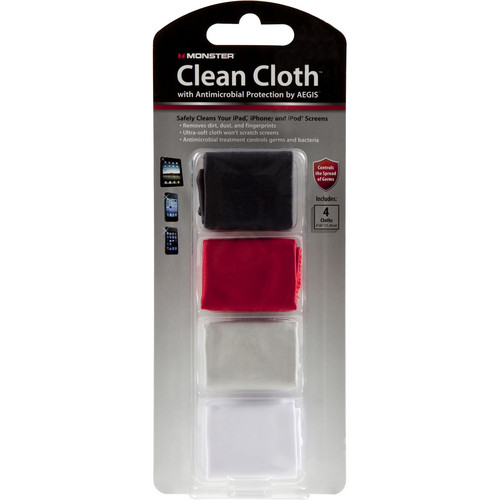Monster Cable Monster Micro Clean Cloth Kit
