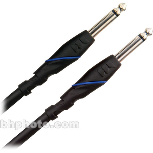 "Monster Cable Standard 100 Series 1/4"" TS Male Phone to 1/4"" TS Male Phone Speaker Cable - 10'"