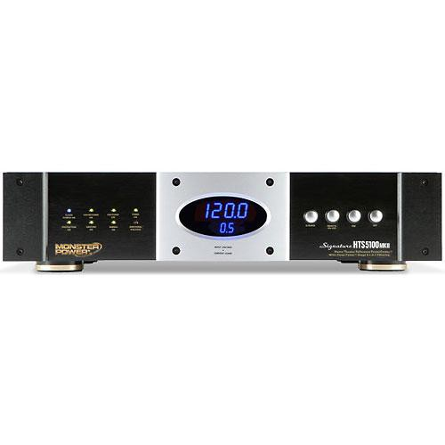 Monster Signature Series HTS 5100 MKII Home Theatre Reference PowerCenter - 10 Outlets, 3 Coax Pairs, RJ11 & RJ45 Pairs