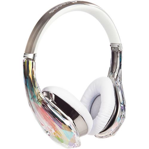 Monster Power Diamond Tears Edge On-Ear Headphones (Crystal)