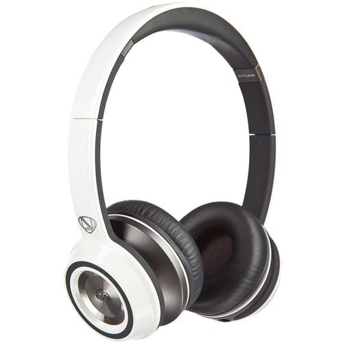 Monster Power N-Tune On-Ear Headphones (Frost White)