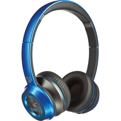 Monster N-Tune On-Ear Headphones (Cobalt Blue)