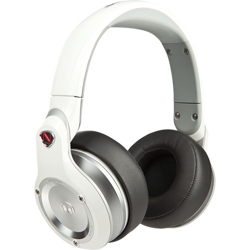 Monster Power N-Pulse Over-Ear Headphones (White)
