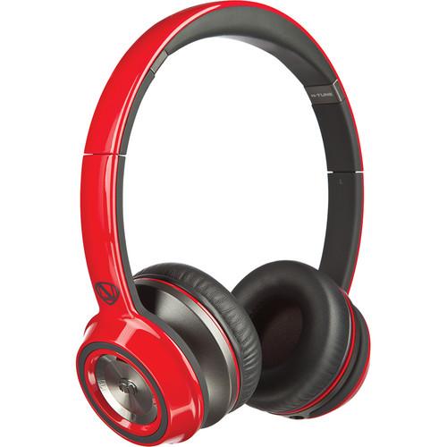 Monster N-Tune On-Ear Headphones (Cherry Red)