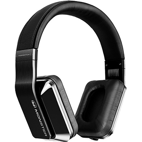 Monster Power Inspiration Active Noise Cancelling Over-Ear Headphones (Titanium)