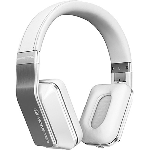 Monster Power Inspiration Active Noise Cancelling Over-Ear Headphones (White)