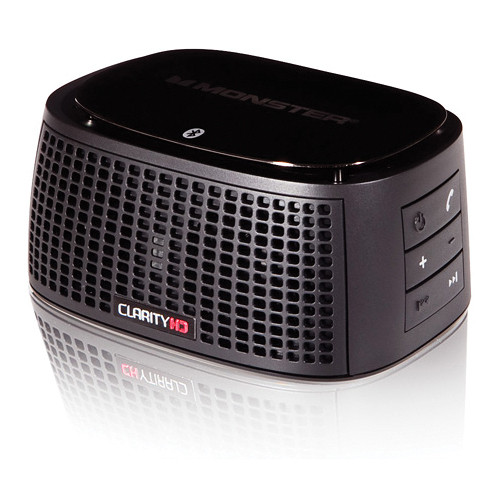 Monster ClarityHD Precision Micro Bluetooth Speaker 100 (Black)