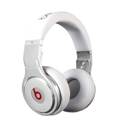 Monster Beats Pro High-Performance Professional Stereo Headphones (White)