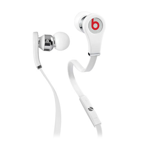 Monster Power Beats by Dr. Dre Tour Mobile High-Resolution In-Ear Headset (White)
