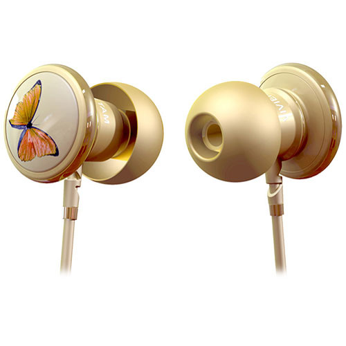 Monster Butterfly by Vivienne Tam In-Ear Headphones with ControlTalk