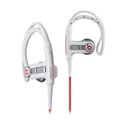 Monster Power PowerBeats Sport Stereo Headphones (White)
