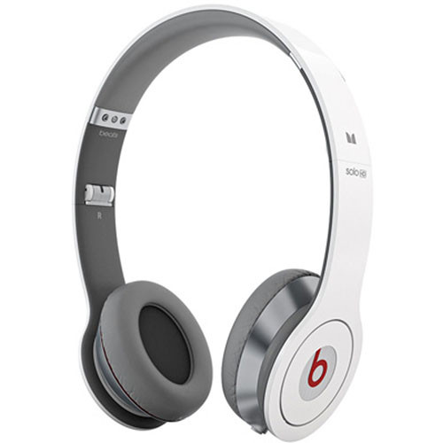 Monster Beats by Dr. Dre Solo HD On-Ear Headphones with ControlTalk (White)