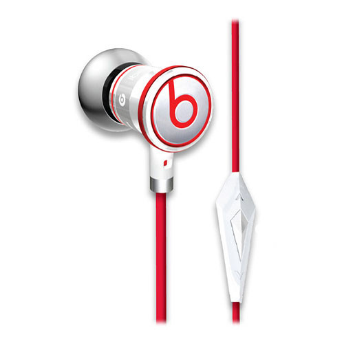 Monster Power iBeats In-Ear Stereo Headphones with ControlTalk (White)