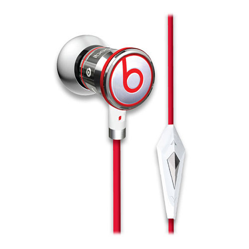 Monster iBeats In-Ear Stereo Headphones with ControlTalk (Chrome)